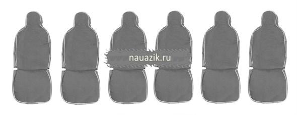 Чехлы сидений  (автомоб.ткань) 9 мест УАЗ 452 Евро-4 (до 2016 г.в.)