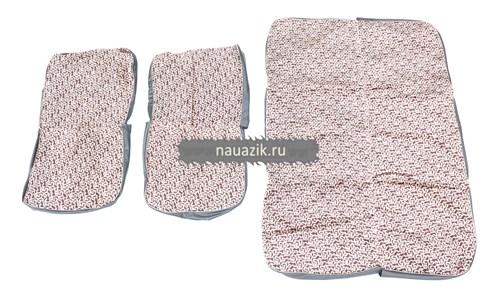 Чехлы сидений жесткие 5 мест. УАЗ 469 (автомоб. ткань)
