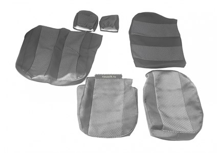 Чехлы сидений УАЗ Профи (автомоб.ткань, к-т из 2х шт.)