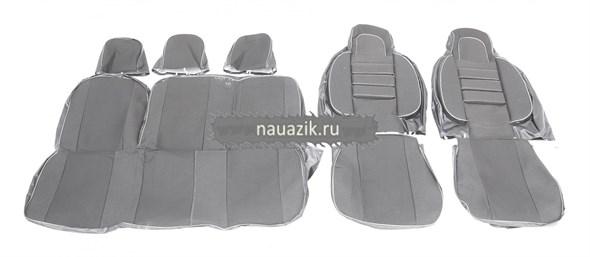 Чехлы сидений УАЗ Хантер (объемные, автомоб.ткань)