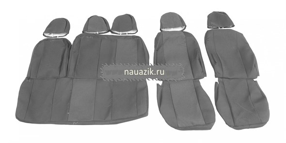 Чехлы сидений УАЗ Хантер (подголовник с отверстием) (автомоб.ткань)