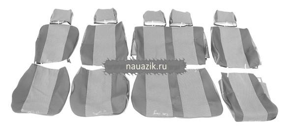 Чехлы сидений УАЗ Хантер подголовник цельный (автомоб.ткань)