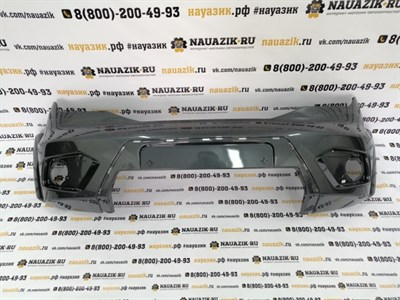 Бампер передний УАЗ Патриот 3163 с 2015 г. Все цвета в ассортименте.