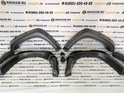 Расширители колесных арок УАЗ Патриот 3163 до 2014г.в. (дорестайлинг)