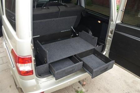Ящик органайзер багажника УАЗ Патриот комплектация Оптимум (с 2015 по наст. время)
