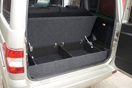 Ящик органайзер багажника УАЗ Патриот комплектация Стандарт (с 2015 по наст. время)