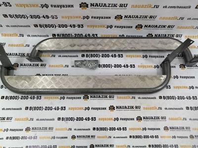 Боковое ограждение (подножки)  УАЗ Хантер УАЗ 469 с алюм. накладкой