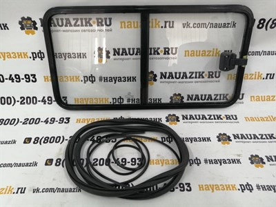 Окно раздвижное УАЗ 452 Буханка (боковой проем левый)