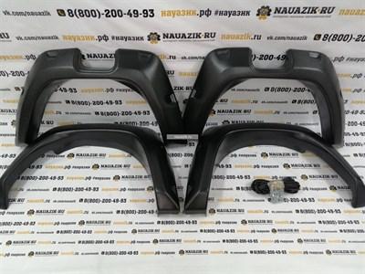 Расширители колесных арок УАЗ Патриот 3163 с 2015г. по настоящее время (рестайлинг)
