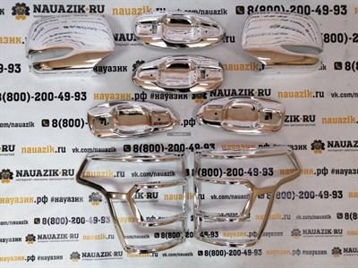 Комплект хромированных накладок УАЗ Патриот с 2015г.в. (рестайлинг)