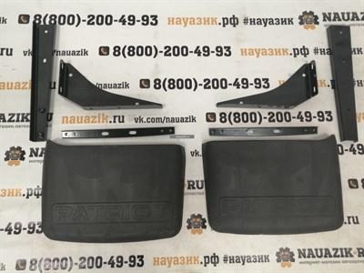 Комплект задних брызговиков с кронштейнами УАЗ Патриот