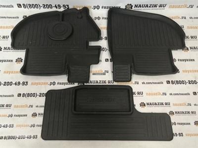 Коврики передние резиновые УАЗ 452 Буханка (комплект 3 шт.)