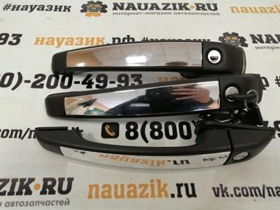 Евроручки ХРОМ УАЗ 452 Буханка (3шт.) под маленький ключ