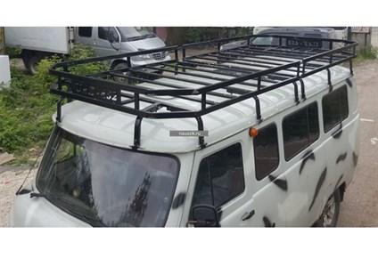 """Багажник УАЗ 452 Буханка """"Викинг"""" 16 опор"""