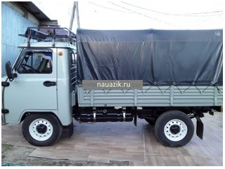"""Багажник УАЗ 3303 """"Якутский"""" с передним дефлектором"""