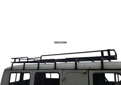 """Багажник УАЗ 452 Буханка """"Колумб"""" 12 опор"""