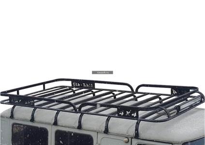 """Багажник УАЗ 452 Буханка """"Навигатор"""" 12 опор"""