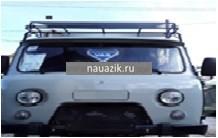 """Багажник УАЗ 39094 Фермер """"Якутский"""" с передним дефлектором"""