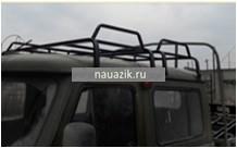 """Багажник УАЗ 39094 Фермер """"Двухсекционный"""" 8 опор"""