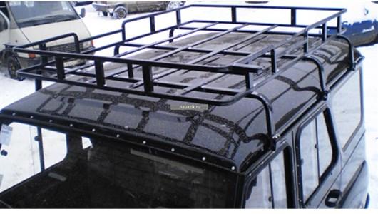 "Багажник УАЗ 469 / Хантер ""Браконьер"" 6 опоры 1,85м"