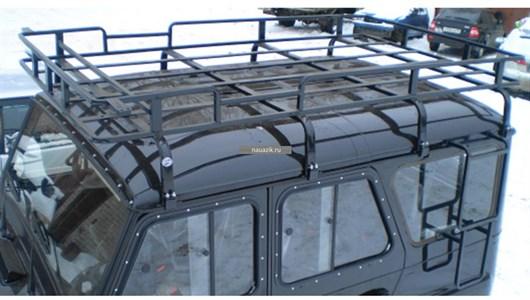 "Багажник УАЗ 469 / Хантер ""Браконьер"" 8 опоры 2,25м"