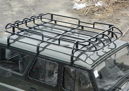 """Багажник УАЗ 469 / Хантер """"Охотник"""" 6 опор 1,85м"""