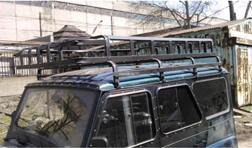 """Багажник УАЗ 469 / Хантер """"Сахалин-2"""" 8 опор 2,2м"""