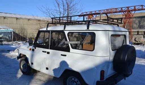 """Багажник УАЗ 469 / Хантер """"Турист"""" 6 съемных опор 1,85м"""