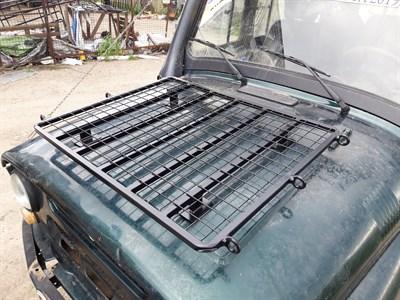 Багажник - площадка на капот УАЗ 469 / Хантер