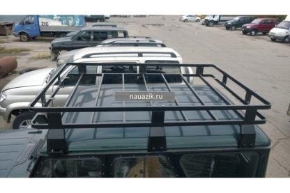 """Багажник УАЗ 469 / Хантер """"Зубр"""" 6 съемных опор"""