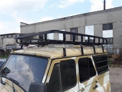 """Багажник УАЗ 469 / Хантер """"Басмач"""" 8 съемных опор"""