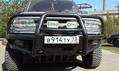 "Бампер передний ""Беркут-2"" с кенгурином УАЗ Патриот"