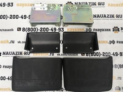 Комплект брызговиков с кронштейнами УАЗ Пикап