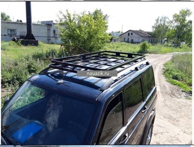 "Багажник ""Скрытый - корзина"" УАЗ Патриот 3163"