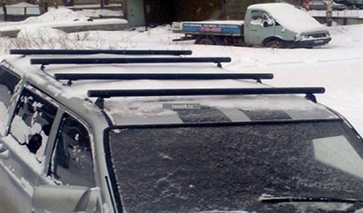 """Багажник """"поперечные рейлинги"""" УАЗ Патриот 3163"""