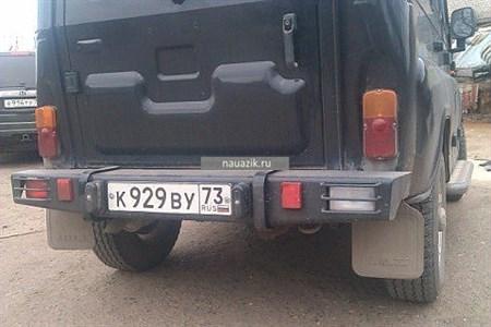 """Бампер задний """"Таран"""" УАЗ 469 / Хантер"""