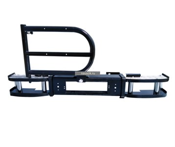 "Бампер задний ""Акула"" УАЗ 469 / Хантер с калиткой под запаску"