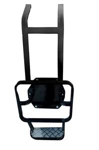 Лестница с алюминиевой подножкой на УАЗ Патриот