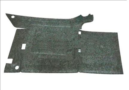 Обивка кожуха переднего колеса УАЗ 452 Буханка правая (формованная)