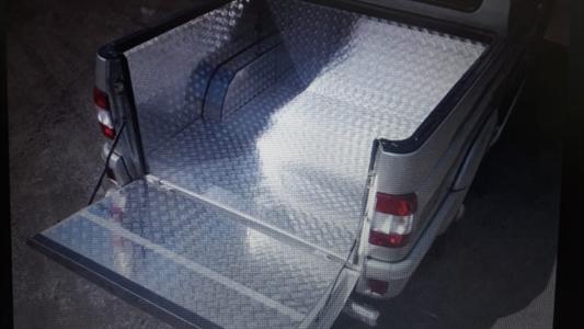 Обшивка алюминием грузового отсека УАЗ Пикап