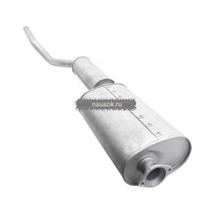 Глушитель с резонатором (УАЗ 3303, 3909, дв. 409)Баксан L-2200