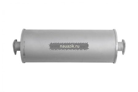 Глушитель УАЗ 3151 н/о люкс  (Баксан) 2 фланца