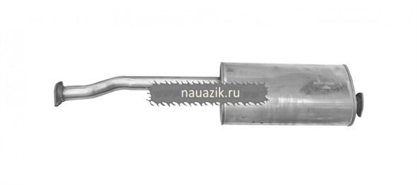 Глушитель УАЗ Патриот до 2008 г.(Баксан) (нерж)