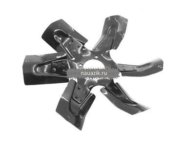 Вентилятор в сб. (металл.) под гидромуфту 6- лопастной