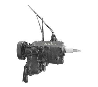 Агрегат в сб. УАЗ 469 4-х синх.КПП (тонкий вал)++